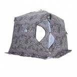 Палатка Куб 2,5х2,5х2,3, Зимний лес, Тольятти