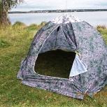 Палатка зимняя пз 6-4 4-х м зимний, Тольятти